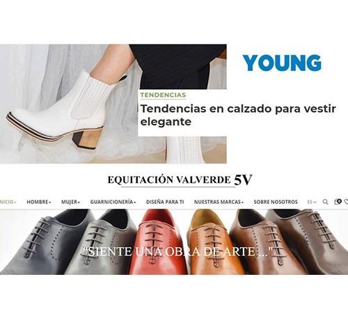 La revista Young habla sobre nosotros, y Manolo Cayuela, ex-alcalde de Valverde nos felicita.